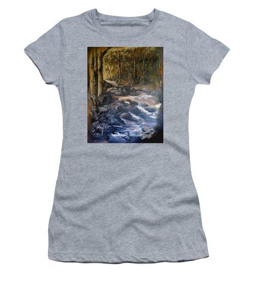 La Rance Women's T-Shirt (Junior Cut) by Silk Alchemy