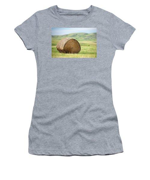 Meadowlark Heaven Women's T-Shirt (Junior Cut) by Todd Klassy