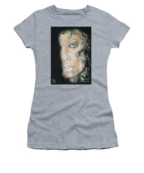 Medusa Women's T-Shirt (Junior Cut) by John Sodja