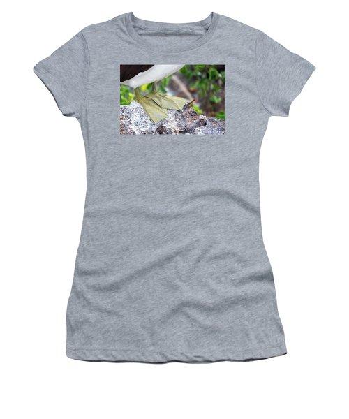 Nazca Booby Feet Women's T-Shirt (Junior Cut) by Jess Kraft