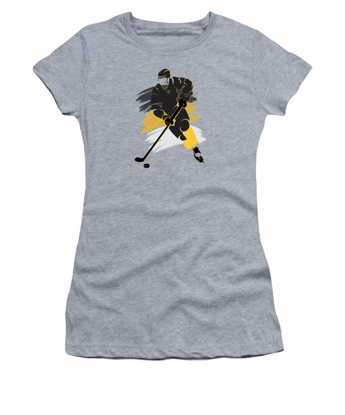 Pittsburgh Penguins Player Shirt Women's T-Shirt (Junior Cut) by Joe Hamilton