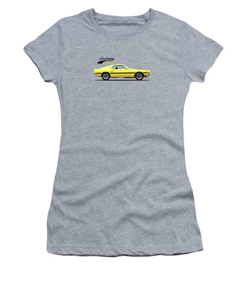 Shelby Mustang Gt350 1969 Women's T-Shirt (Junior Cut) by Mark Rogan