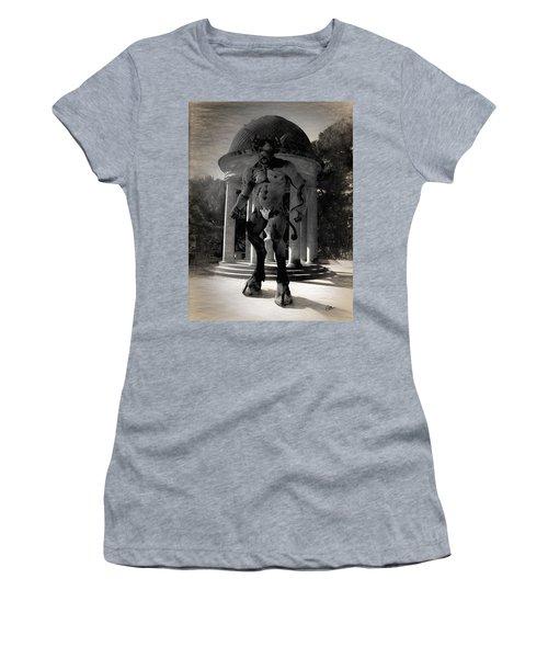 The Monster Maze Women's T-Shirt (Junior Cut) by Joaquin Abella