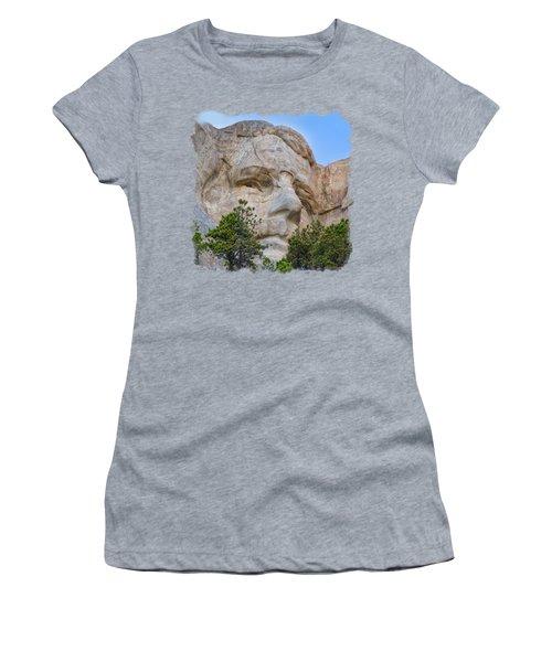 Theodore Roosevelt 3 Women's T-Shirt (Junior Cut) by John M Bailey