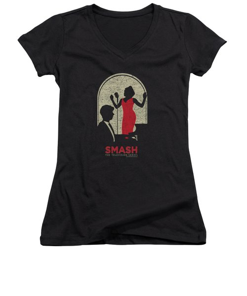 Smash - Stage Women's V-Neck T-Shirt (Junior Cut) by Brand A