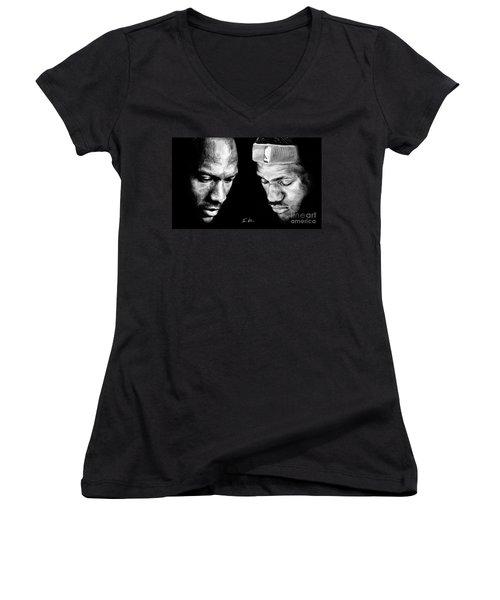 The Next One Women's V-Neck T-Shirt (Junior Cut) by Tamir Barkan