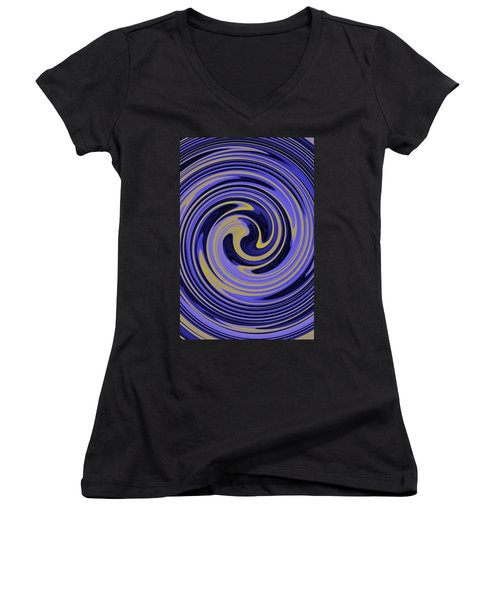 You Are Like A Hurricane Women's V-Neck T-Shirt (Junior Cut) by Bill Cannon