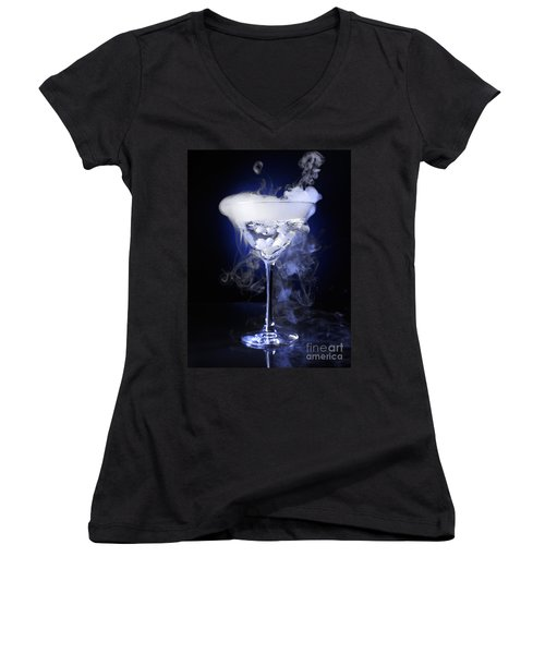 Exotic Drink Women's V-Neck T-Shirt (Junior Cut) by Oleksiy Maksymenko