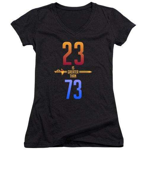 2373 Women's V-Neck T-Shirt (Junior Cut) by Augen Baratbate