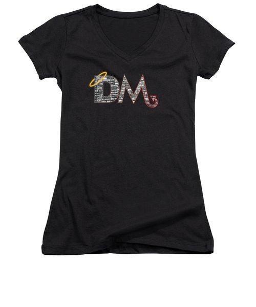 DM Women's V-Neck T-Shirt (Junior Cut) by Jon Munson II