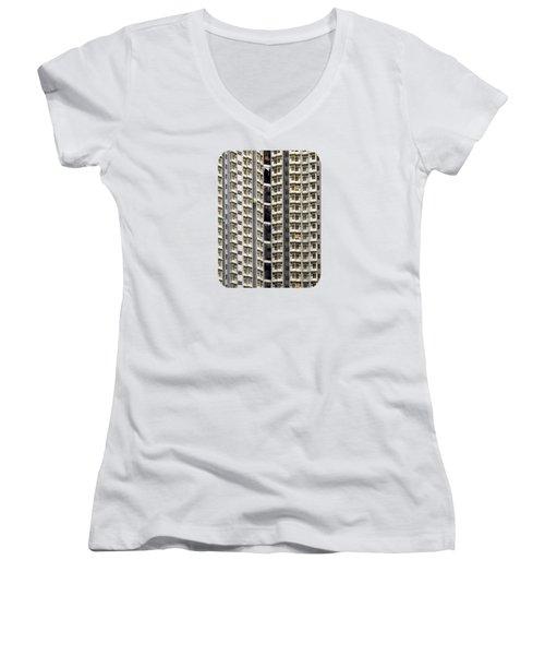 A Work In Progress Women's V-Neck T-Shirt (Junior Cut) by Ethna Gillespie