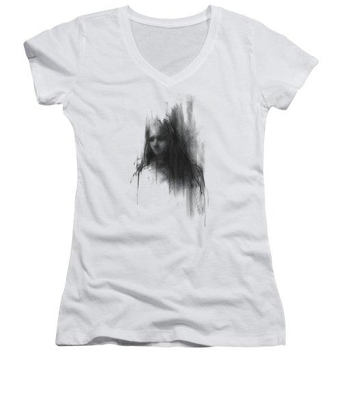 Like A Girl Women's V-Neck T-Shirt (Junior Cut) by Bruno M Carlos