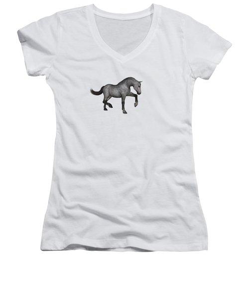 Oz Women's V-Neck T-Shirt (Junior Cut) by Betsy Knapp