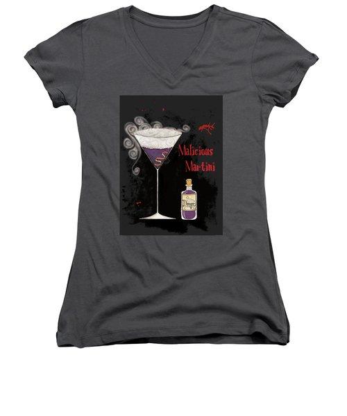 Pick Your Poison I Women's V-Neck T-Shirt (Junior Cut) by Elyse Deneige