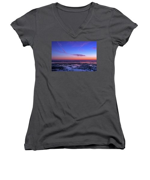 Women's V-Neck T-Shirt (Junior Cut) featuring the photograph Dream No More by Thierry Bouriat