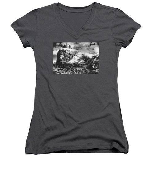 Isle Of Skye Women's V-Neck T-Shirt (Junior Cut) by Simon Marsden