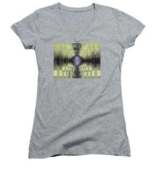 Riven Women's V-Neck T-Shirt (Junior Cut) by Tim Allen