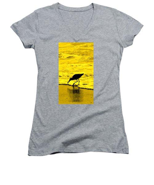 This Beach Belongs To Me Women's V-Neck T-Shirt (Junior Cut) by Ian  MacDonald