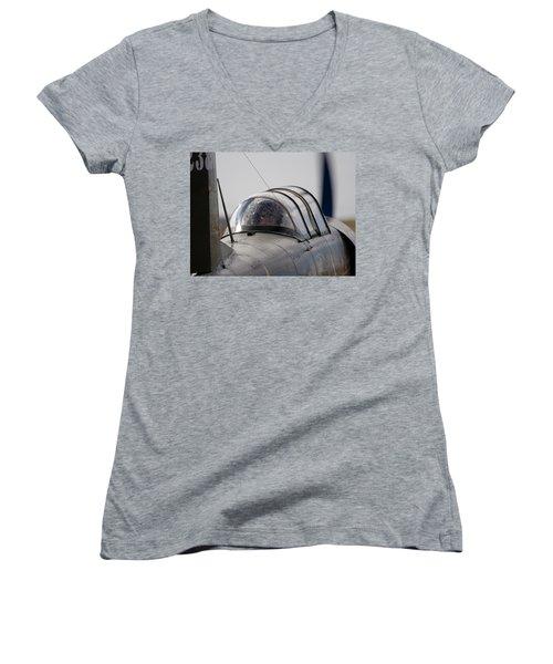 Yak Yak Women's V-Neck T-Shirt (Junior Cut) by Paul Job