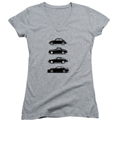 Evolution Women's V-Neck T-Shirt (Junior Cut) by Mark Rogan