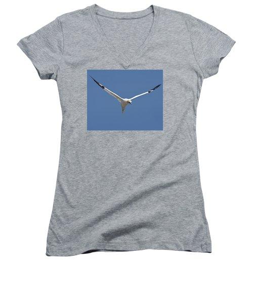 Speed Adjustment Women's V-Neck T-Shirt (Junior Cut) by Tony Beck
