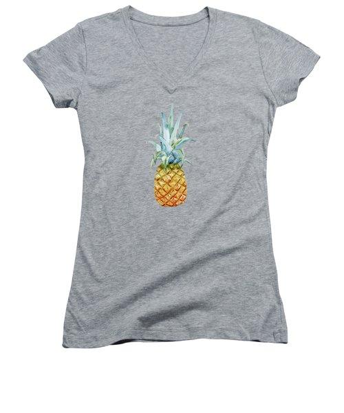 Summer Women's V-Neck T-Shirt (Junior Cut) by Mark Ashkenazi