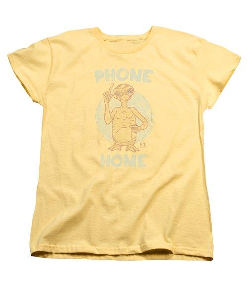 Et - Phone Women's T-Shirt (Standard Cut) by Brand A