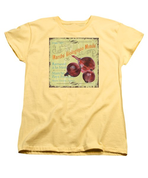 French Market Sign 4 Women's T-Shirt (Standard Cut) by Debbie DeWitt