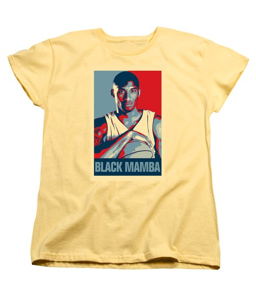 Kobe Bryant Women's T-Shirt (Standard Cut) by Taylan Soyturk