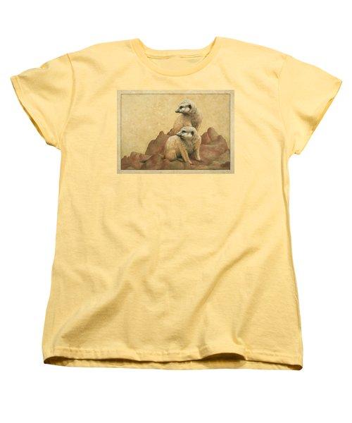Lookouts Women's T-Shirt (Standard Cut) by James W Johnson