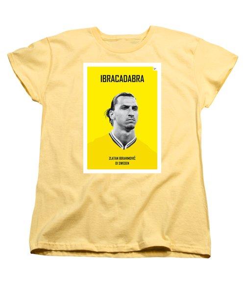 My Zlatan Soccer Legend Poster Women's T-Shirt (Standard Cut) by Chungkong Art