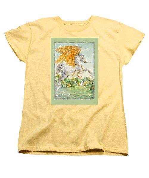 Pegasus Women's T-Shirt (Standard Cut) by Lynn Bywaters