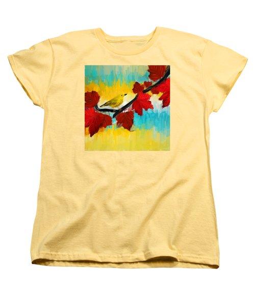 Vividness Women's T-Shirt (Standard Cut) by Lourry Legarde