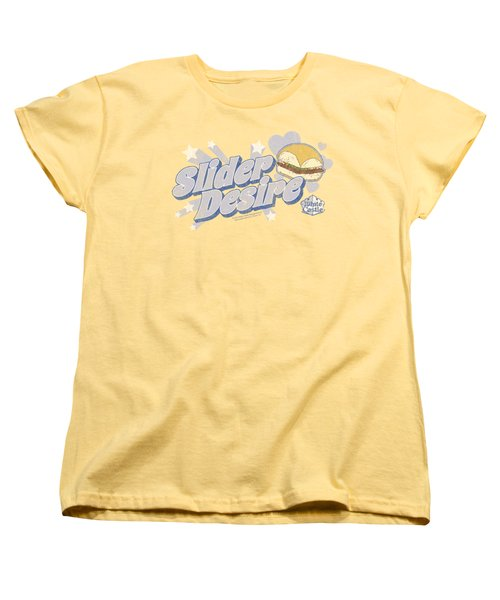 White Castle - Slider Desire Women's T-Shirt (Standard Cut) by Brand A