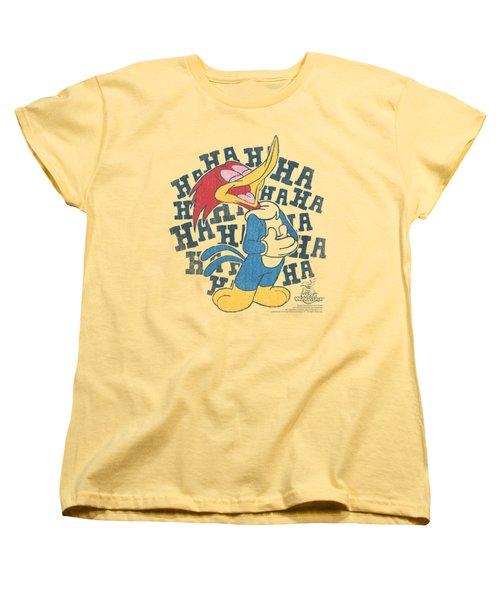 Woody Woodpecker - Laugh It Up Women's T-Shirt (Standard Cut) by Brand A