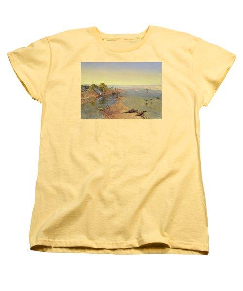 The Ganges Women's T-Shirt (Standard Cut) by William Crimea Simpson