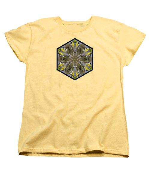 Black-throated Green Warbler Women's T-Shirt (Standard Cut) by Rhoda Gerig