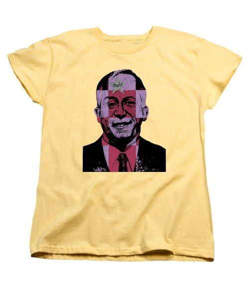 Smugshot Women's T-Shirt (Standard Cut) by Steve Hunter