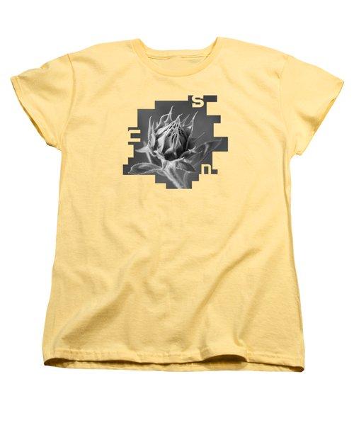 Sunflower Women's T-Shirt (Standard Cut) by Konstantin Sevostyanov