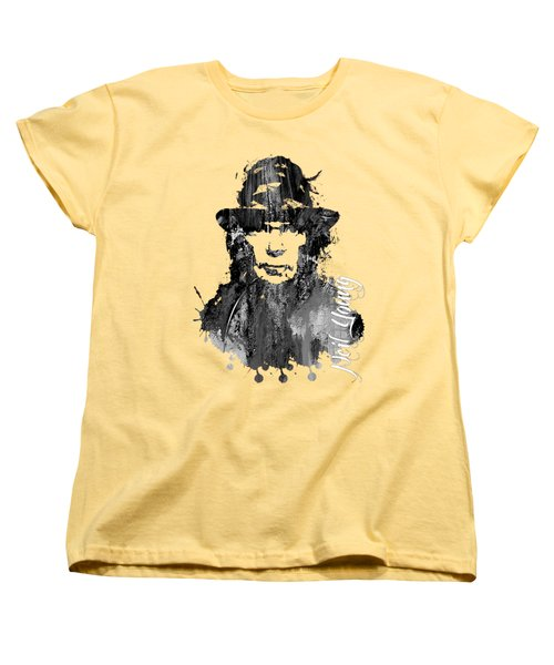 Neil Young Collection Women's T-Shirt (Standard Cut) by Marvin Blaine