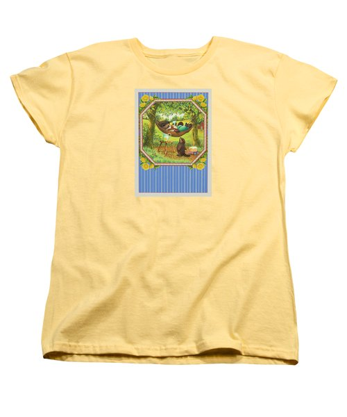 A Father's Day Treat Women's T-Shirt (Standard Cut) by Lynn Bywaters