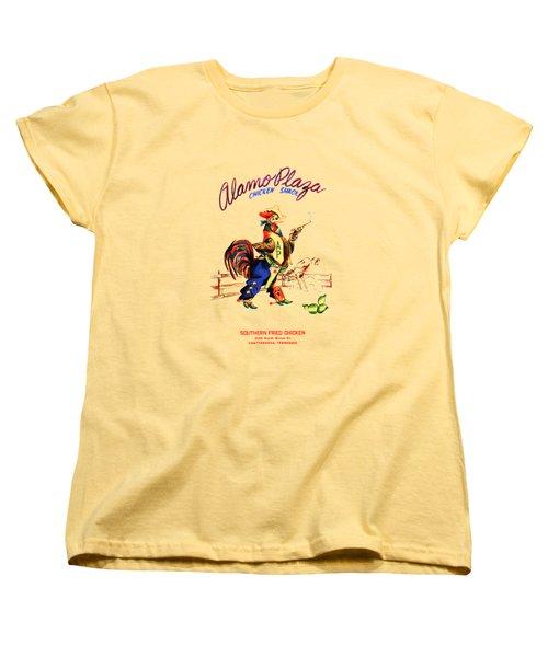Alamo Plaza Tennessee 1950s Women's T-Shirt (Standard Cut) by Mark Rogan