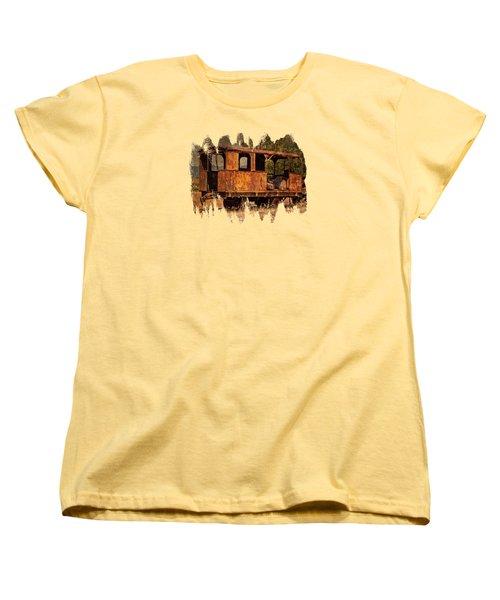 All Aboard The Excursion Car Women's T-Shirt (Standard Cut) by Thom Zehrfeld