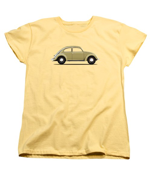 Vw Beetle 1946 Women's T-Shirt (Standard Cut) by Mark Rogan