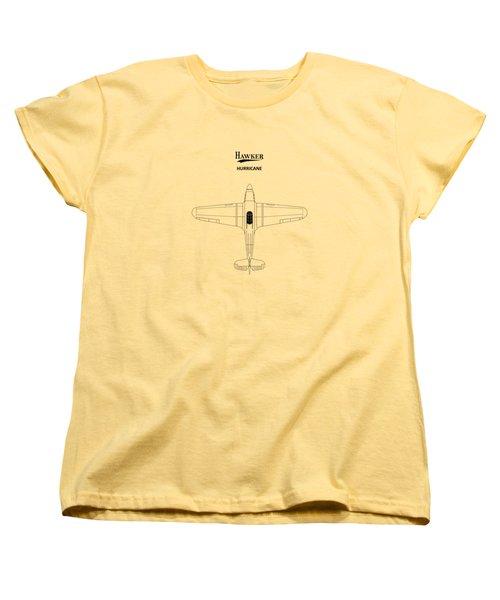 The Hawker Hurricane Women's T-Shirt (Standard Cut) by Mark Rogan