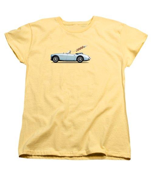 Austin Healey 3000 Mk3 Women's T-Shirt (Standard Cut) by Mark Rogan