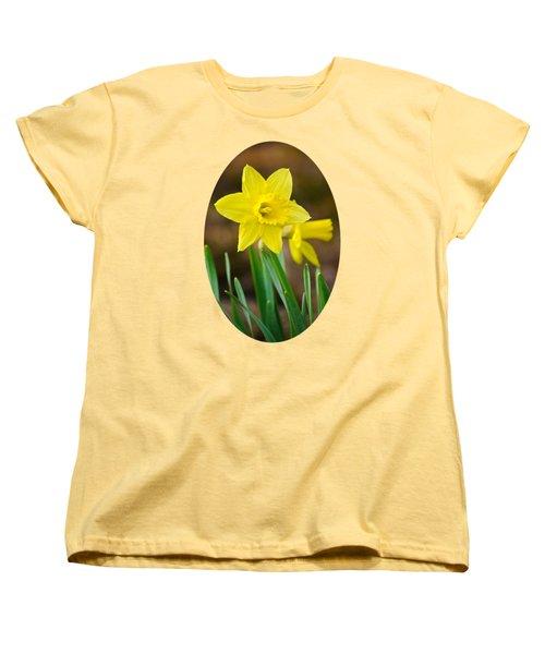 Beautiful Daffodil Flower Women's T-Shirt (Standard Cut) by Christina Rollo