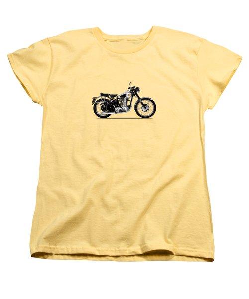 Bsa Gold Star 52 Women's T-Shirt (Standard Cut) by Mark Rogan