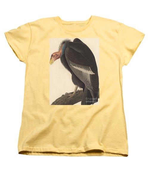 Californian Vulture Women's T-Shirt (Standard Cut) by John James Audubon