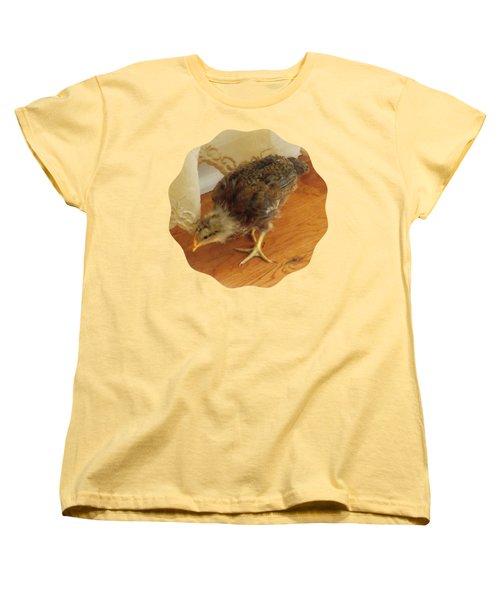 Chic Chickie Women's T-Shirt (Standard Cut) by Anita Faye
